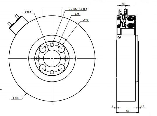 汽车方向盘扭矩/转角传感器fca7300